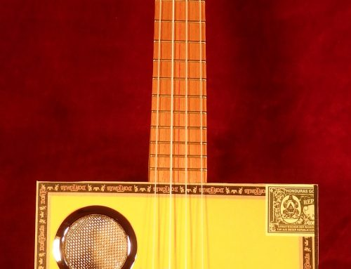 Cigar Box  Ukulele (electric)