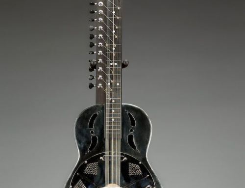Parlor size Veena, 24.9″ scale
